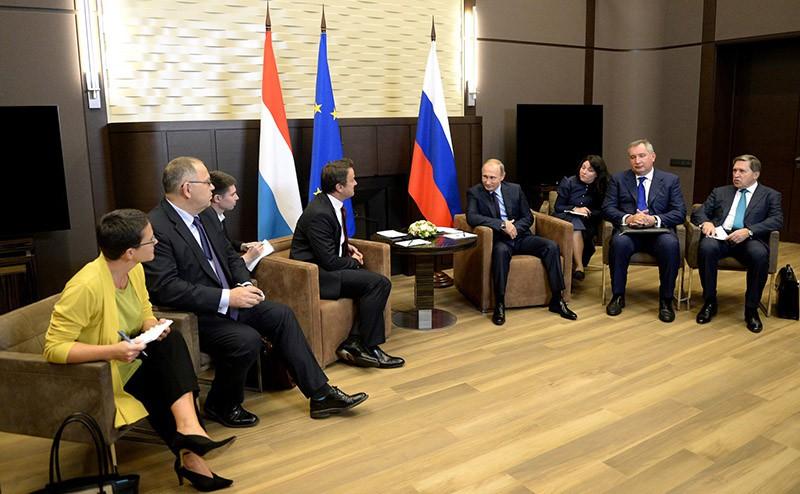 Встреча с Премьер-министром Люксембурга Ксавье Беттелем