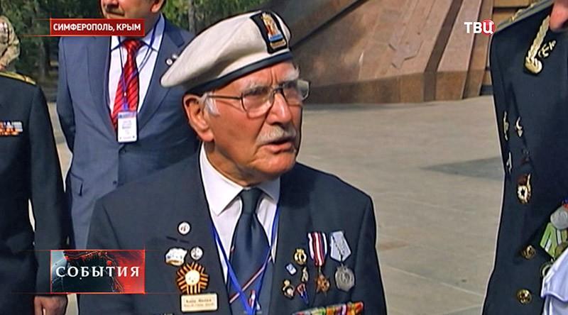 Британский ветеран в Крыму