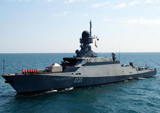 """Корабль """"Свияжск"""" Каспийской флотилии"""