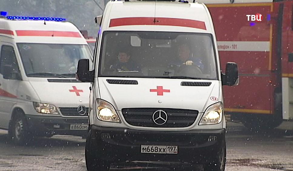 Машины скорой помощи