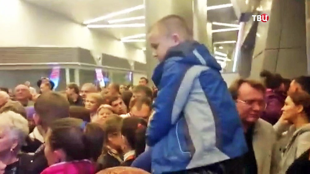 Задержка рейса во Внуково