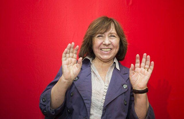 Лауреат Нобелевской премии по литературе 2015 Светлана Алексиевич