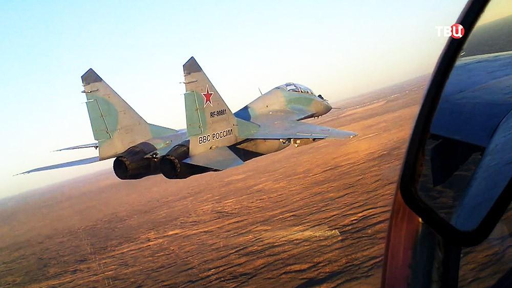 Истребитель МиГ-29 ВКС России