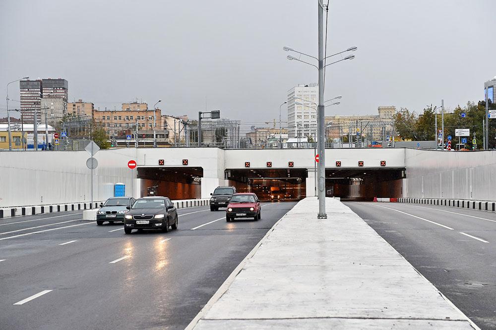 Тоннель на Северо-Заподной хорде
