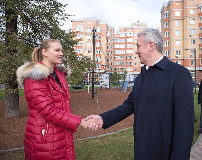 Сергей Собянин на завершении благоустройства Варшавского шоссе