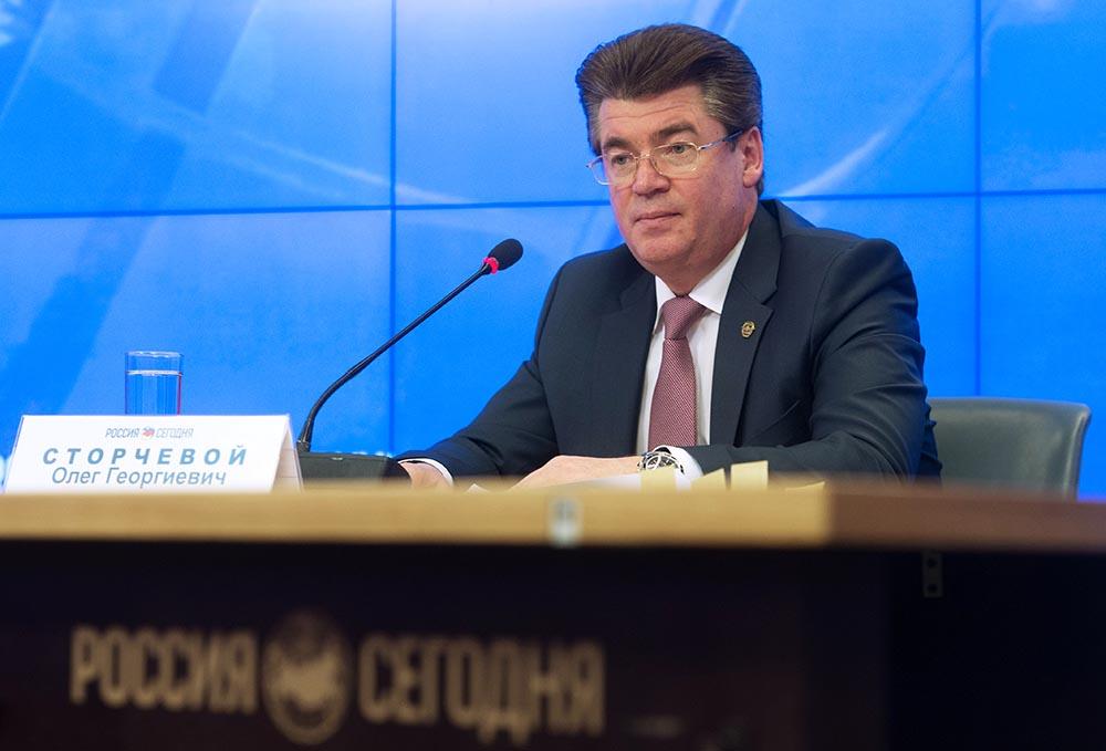 Заместитель руководителя Федерального агентства воздушного транспорта Олег Сторчевой