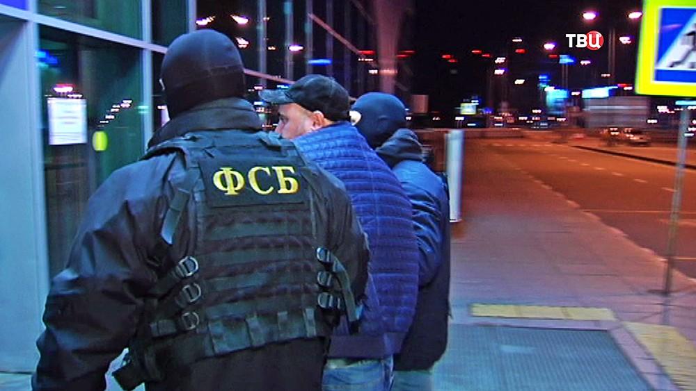 Спецоперация ФСБ в аэропорту