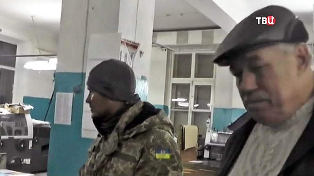 Печать бюллетеней на Украине