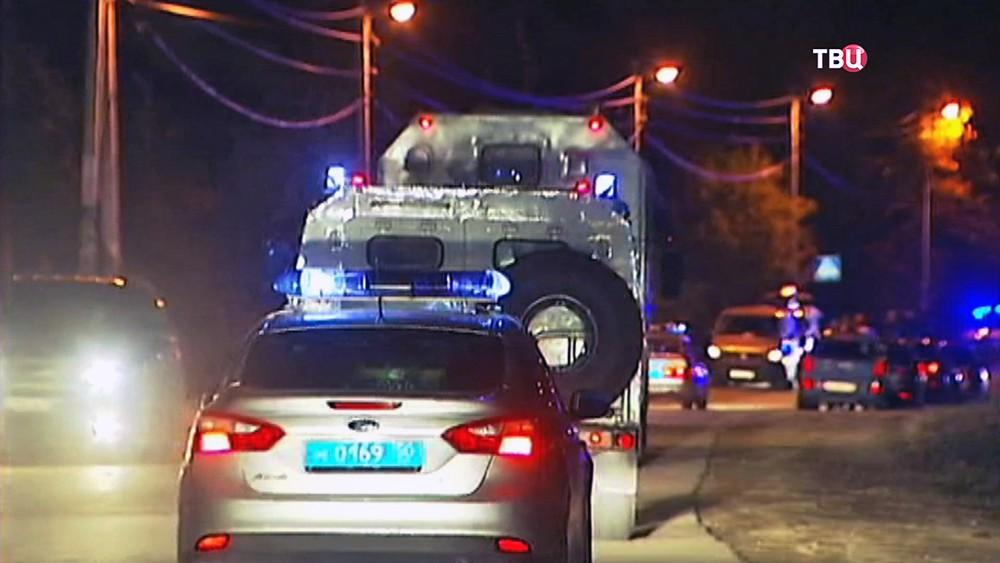 Полиция на месте происшествия в Подмосковье