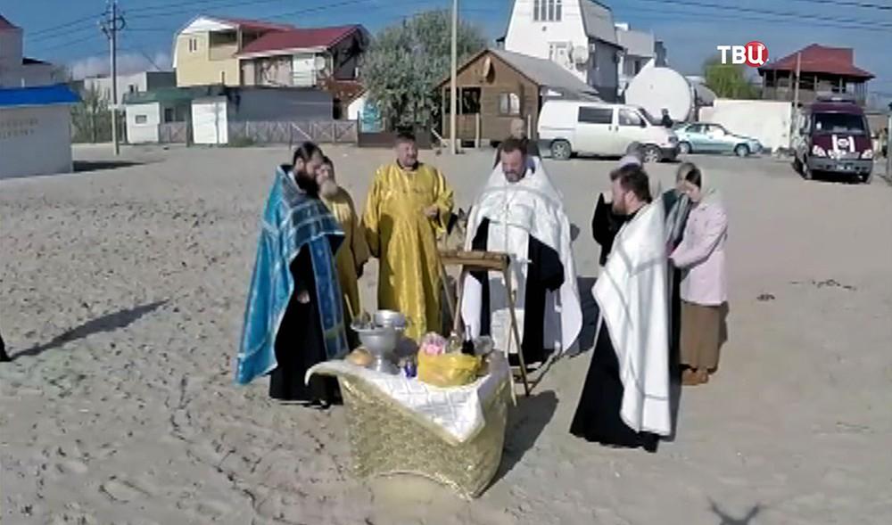 "Молебен по погибшим пассажирам катера ""Иволга"""