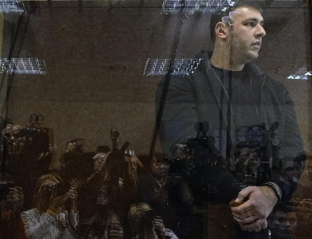 Шота Элизбарашвили, обвиняемый в пособничестве в убийстве первого заммэра Красногорска Юрия Караулова и руководителя красногорских электросетей Георгия Котляренко