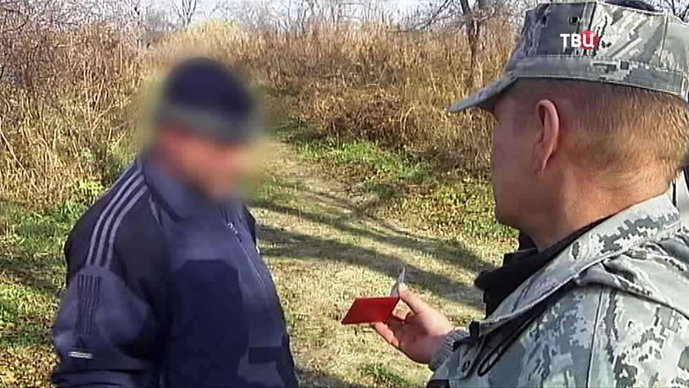 Инспектор Росрыболовства задержали подозреваемого в браконьерстве