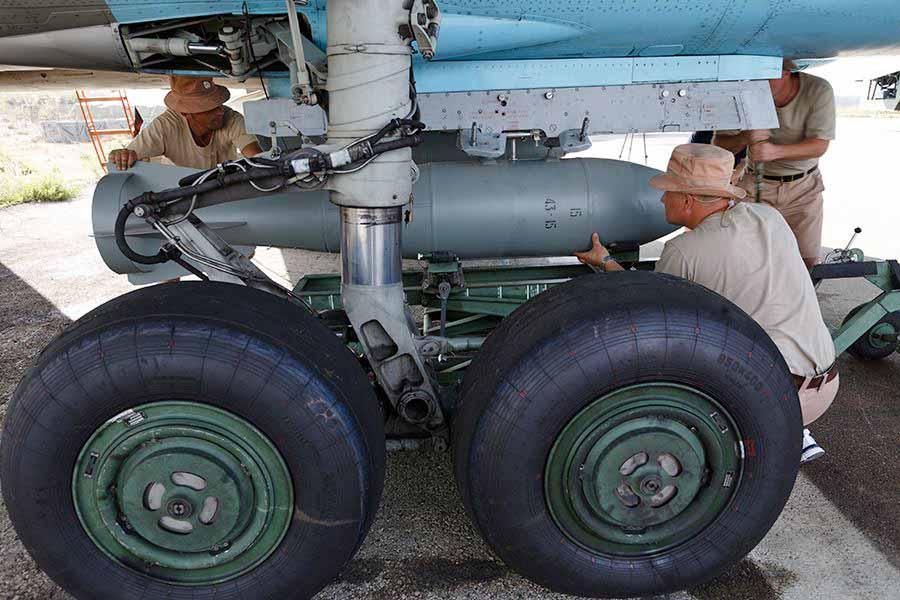 Боевое оснащение истребителей ВВС России