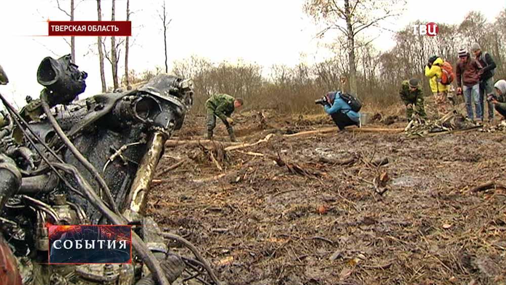 Поисковики обнаружили обломки двух самолётов Пе-2