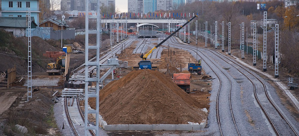 Открытие Коптевского путепровода