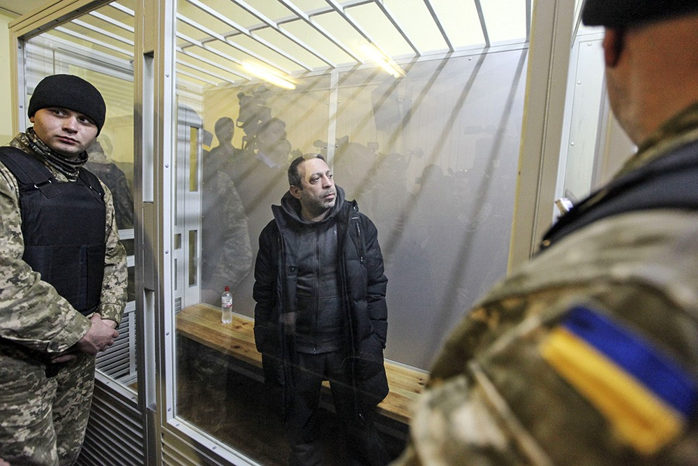 """Лидер партии """"УКРОП"""" Геннадий Корбан в суде"""
