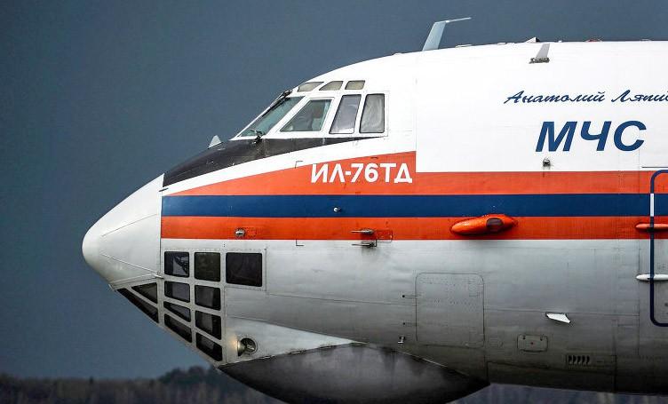 Самолет МЧС ИЛ-76ТД