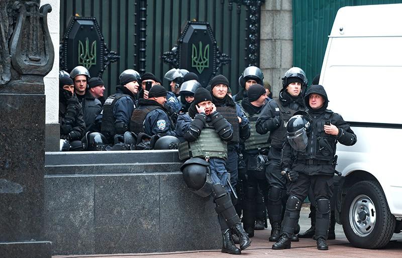 Милицейский спецназ Украины