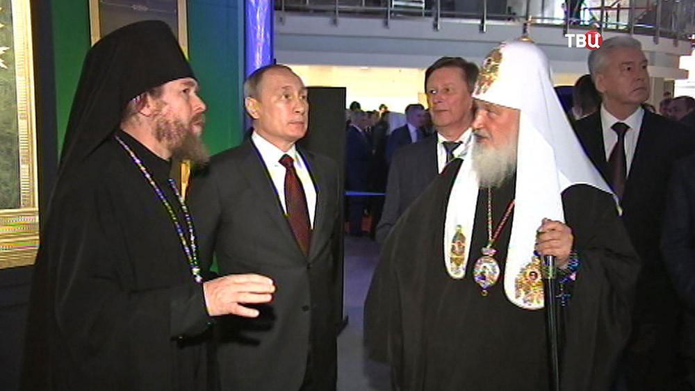 """Президент России Владимир Путин посетил выставку-форума """"Православная Русь"""""""