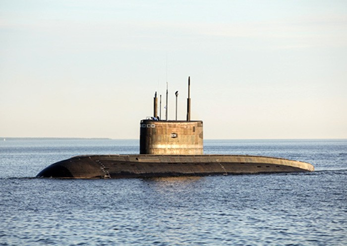 """Подводная лодка """"Краснодар"""""""