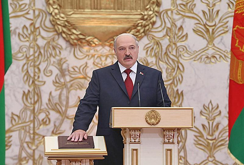 Инаугурация президента Белоруссии Александра Лукашенко
