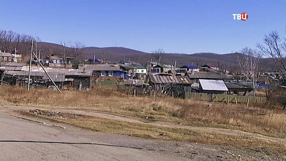 Посёлок в Приморье