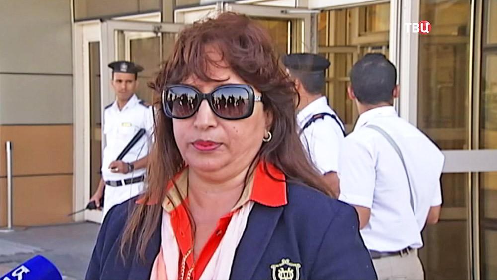 Представитель аэропорта Шарм-эль-Шейха