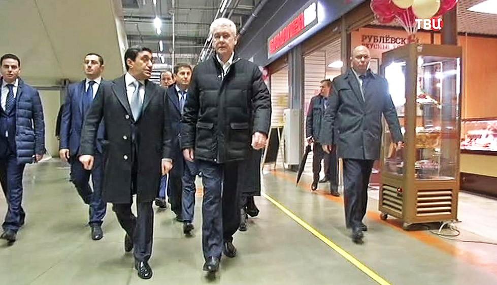 Сергей Собянин посетил агрокластер
