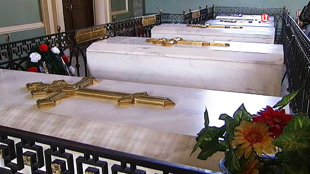 Усыпальница царской семьи в Петропавловской крепости