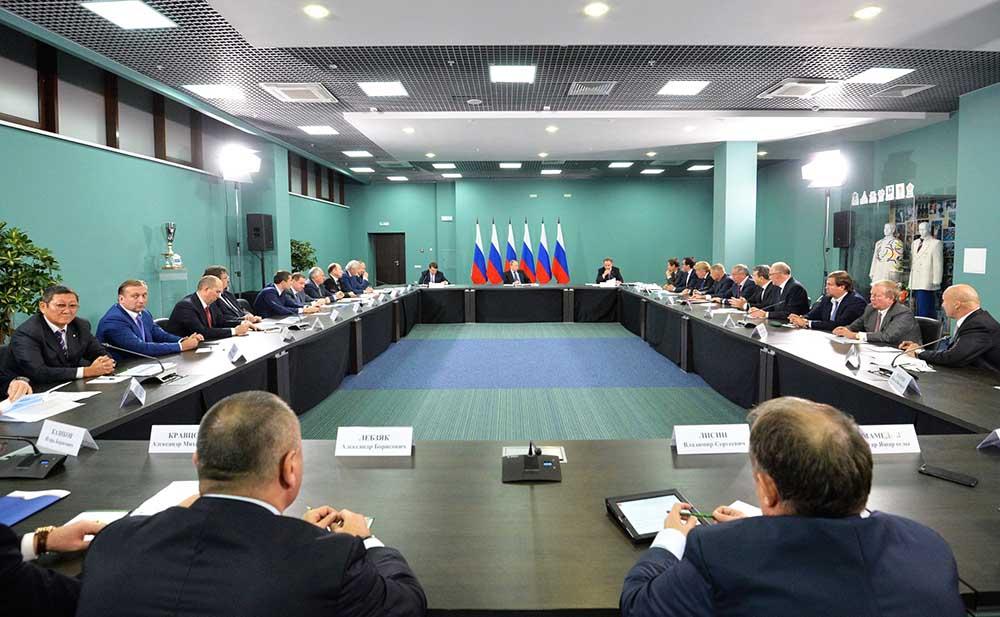 Совещание по подготовке российских спортсменов к Олимпиаде-2016