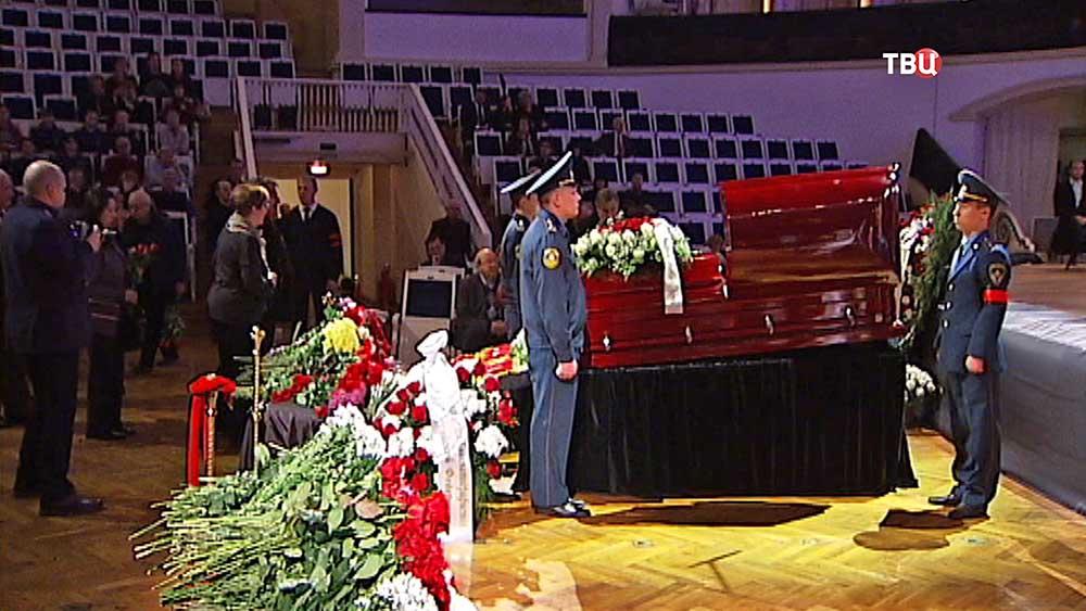 Церемония прощания с композитором Андреем Эшпаем
