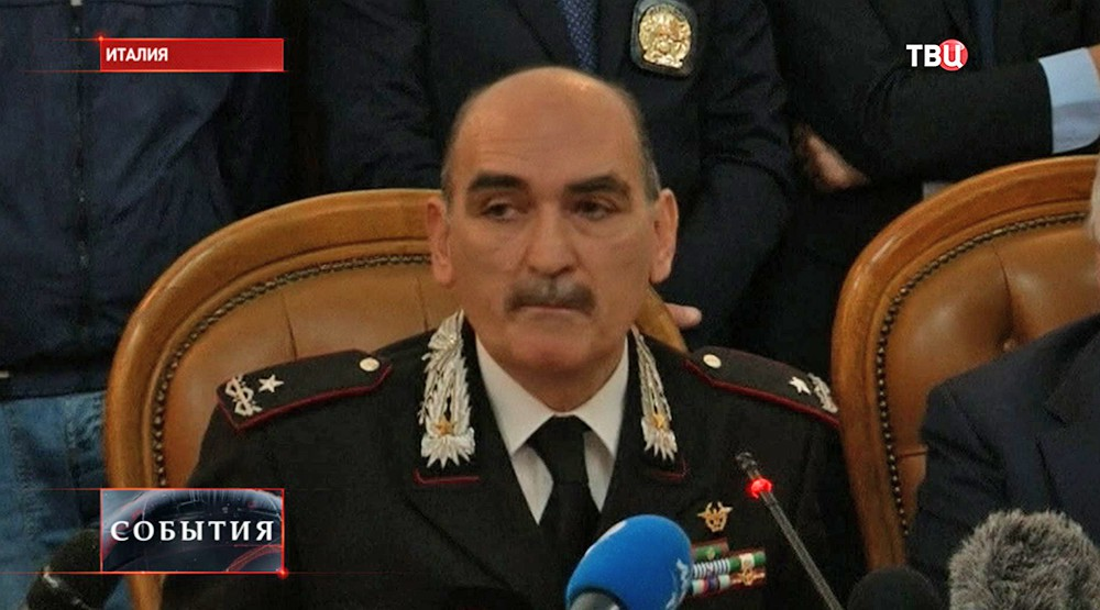 Генерал антитеррористического подразделения карабинеров Джузеппе Говернале