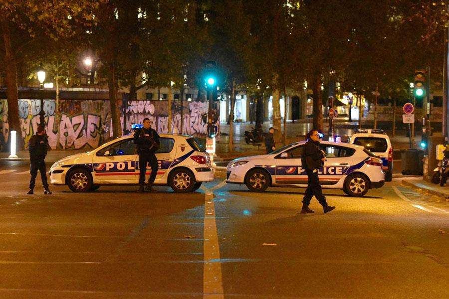 Теракты в Париже