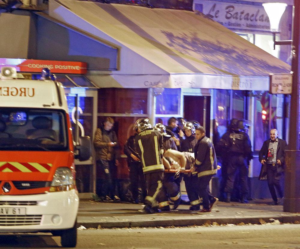 На месте теракта во Франции