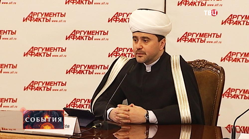 Первый заместитель председателя Совета муфтиев России и Духовного управления мусульман Рушан Аббясов