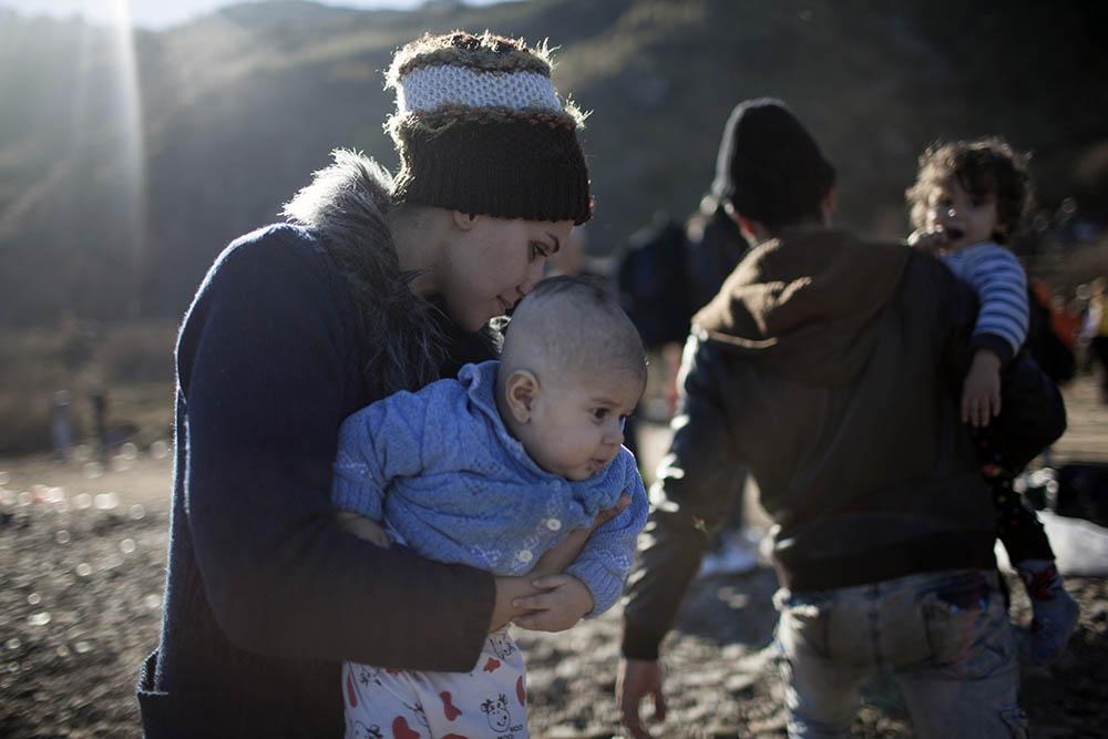 Беженцы из Сирии