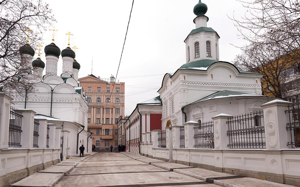 Завершение реставрации Черниговского подворья