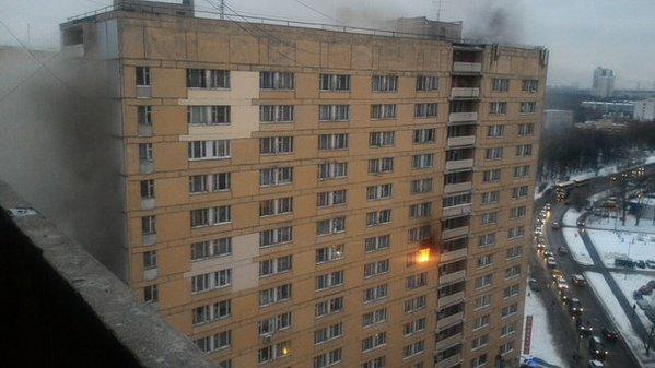 Пожар в общежитии РХТУ