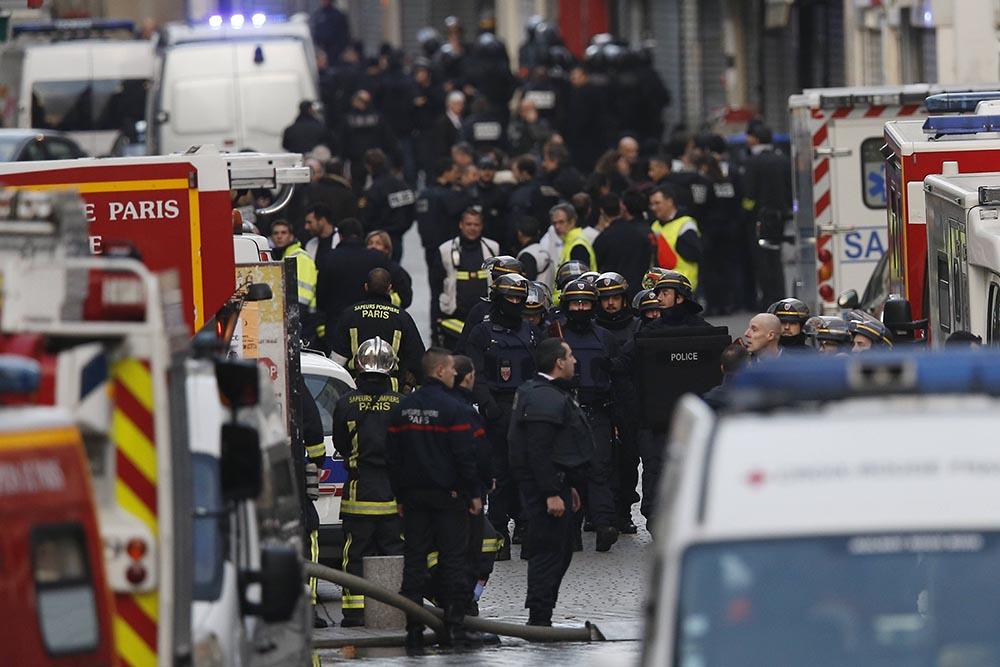 Антитеррористическая операция во Франции