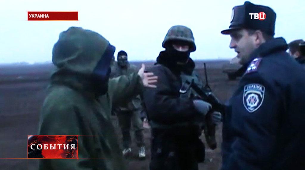 Вооруженные отряды милиции и Национальной гвардии