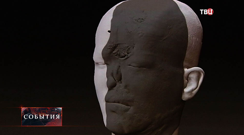 Макет лица