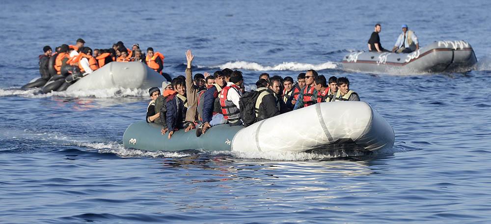 Мигранты в Турции