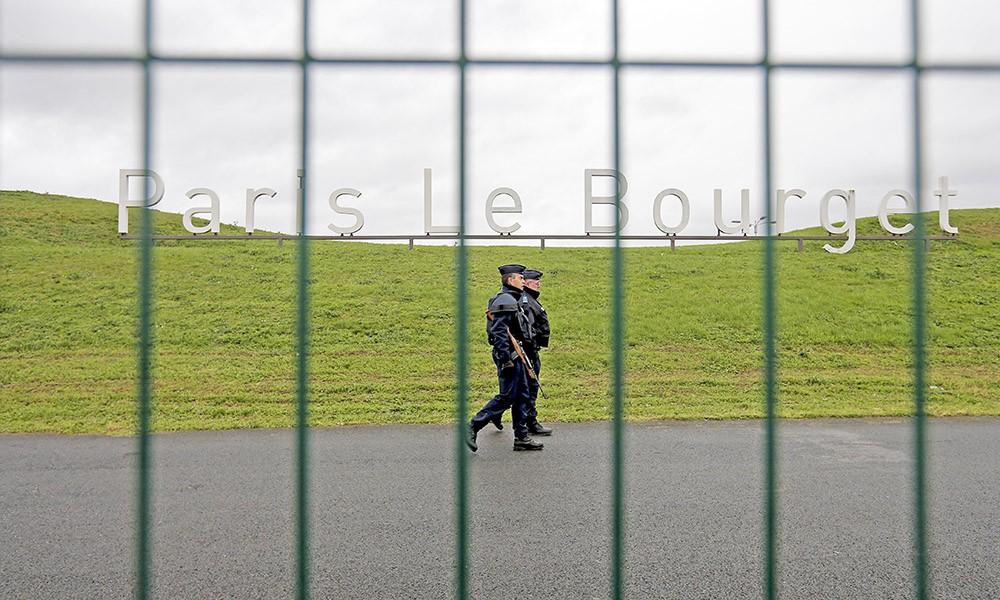 Меры безопасности в Ле Бурже