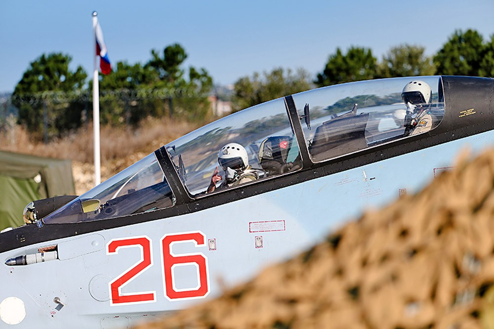 Пилоты авиагруппировки ВКС России в Сирии