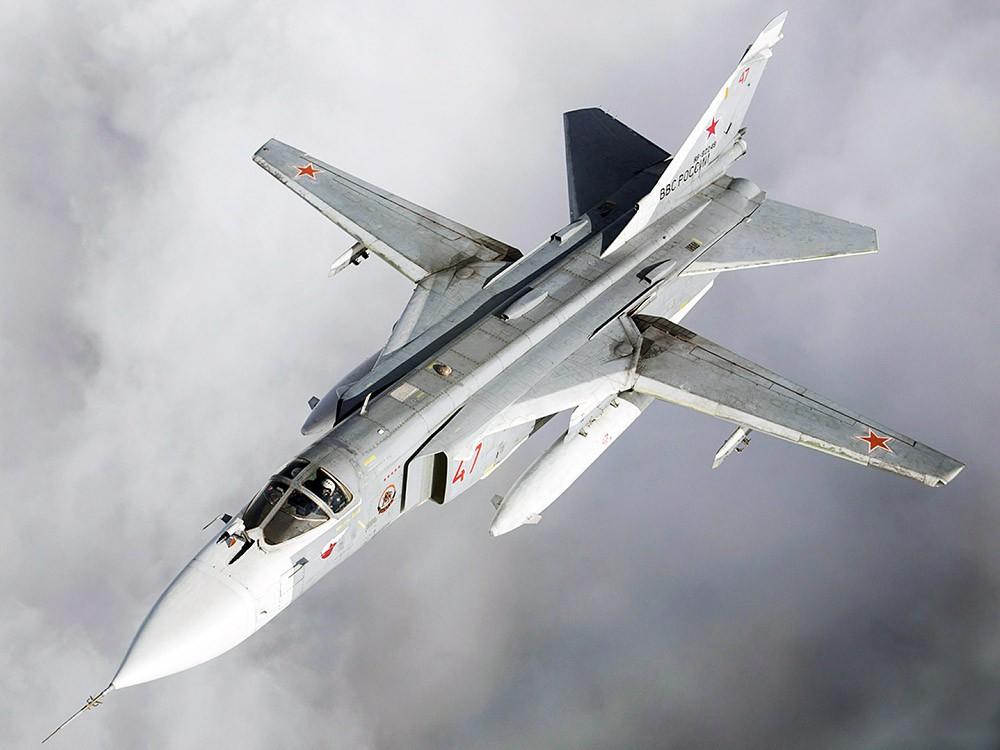 Истребитель Су-24 ВКС России