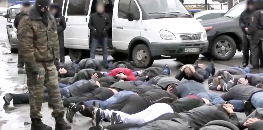 Полицейские пресекли сходку криминальных авторитетов