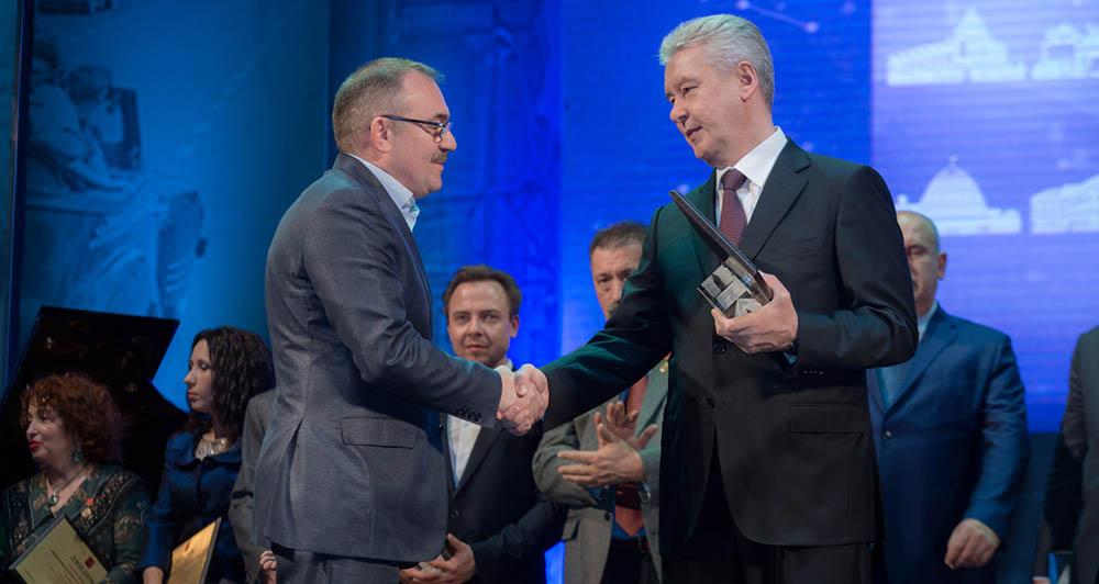 Церемония награждения лауреатов премии «Московская реставрация — 2015»