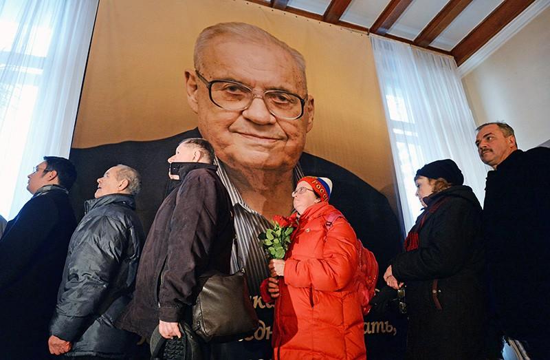 Церемония прощания с кинорежиссером Эльдаром Рязановым