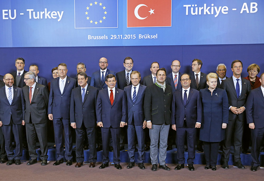 Саммит Турции и Евросоюза