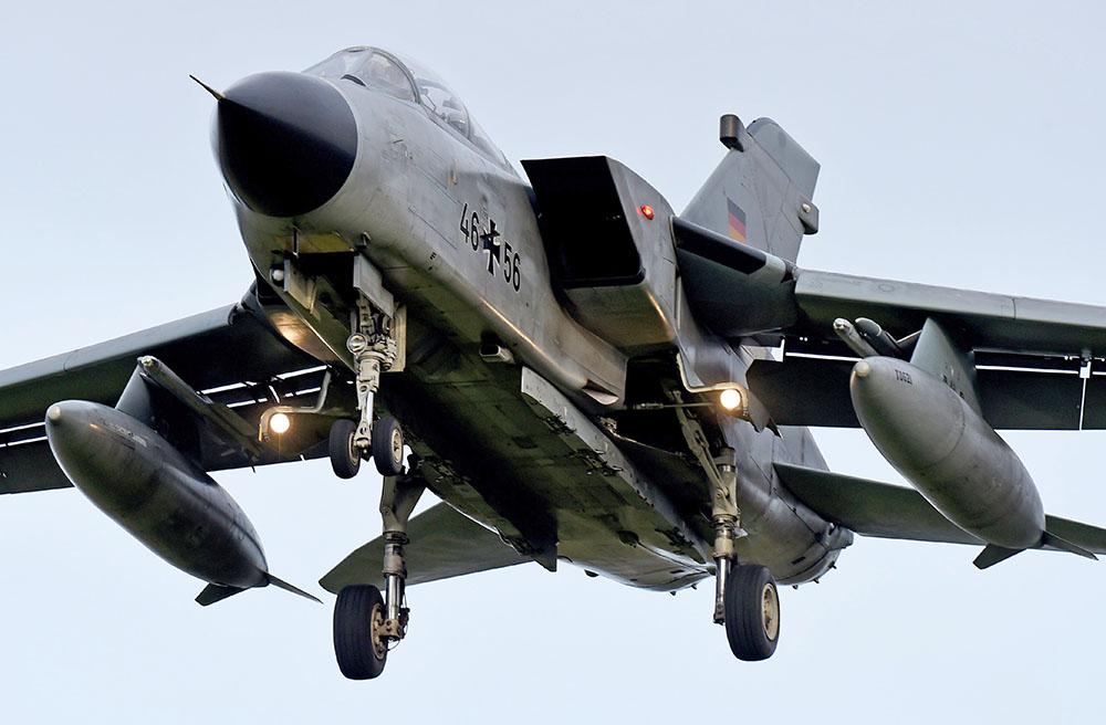 Истребитель Tornado ВВС Германии
